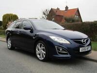 2011 Mazda 6 2.2d 180 BHP SPORT 5DR TURBO DIESEL ESTATE ** 84,000 MILES * FUL...