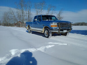 1996 Ford F-250 XLT Pickup Truck Manual Turbo Diesel 4x4 Reduced