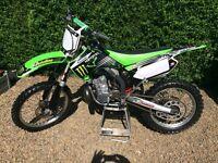 Kawasaki kx250 2007