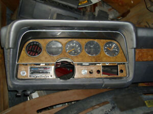 1977 Ford Thunderbird Dash pad and Cluster