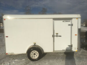 2010 H & H 6X12 Enclosed Trailer