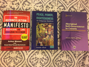 All textbooks for MGMT2805 - Intro to Indigenous Governance Dal