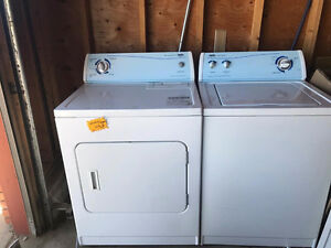 Price reduced - Used Washer & Dryer for sale