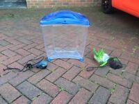 Plastic fish bowl/tank