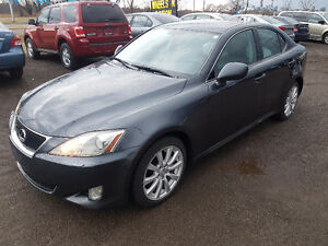 2008 Lexus IS 250 AWD Certified and E-test 2 YEARS WARRANTY