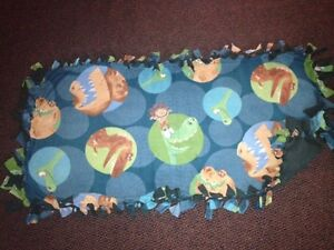 The Good Dinosaur handmade fleece blanket