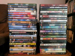 Lot de 75 dvd 75$ et quelques series 50$ ou 5$ chaque