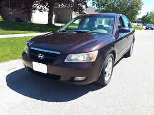 2006 Hyundai Sonata 48 000 kms SAFTIED & E-TESTED  READY TO GO!!