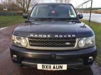 2011 11 LAND ROVER RANGE ROVER SPORT 3.0 TDV6 SE 5D AUTO 245 BHP DIESEL