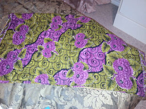 Purple & Green Dignify Quilt