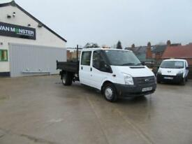 Ford Transit D/Cab Chassis Tdci 100Ps [Drw] Euro 5 DIESEL MANUAL WHITE (2014)