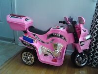 RECHARGEABLE BATTERY MOTORBIKE FOR GIRLS - OBO
