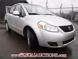 2010 SUZUKI SX4 4D AT