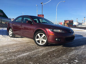 2006 MAZDA 6 SPORT, LOADED, SUNROOF, 125K