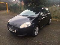 Fiat Punto Active 1.2 Petrol,108000 Miles, 5 Doors, Black, Very Good Condition