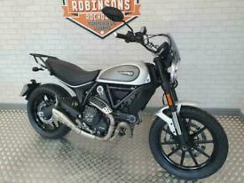 2019 19 plate Ducati Scrambler Icon in stunning Silver just 2283 miles