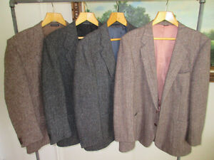 Harris Tweed sports jacket, Size 40 to 44