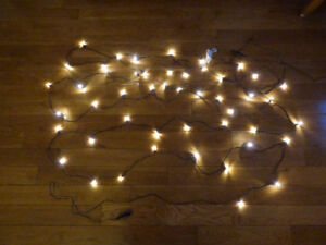 Led String Lights outdoor and indoor IKEA 48 lights