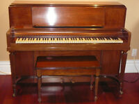 OAK Piano, HEINTZMAN, upright