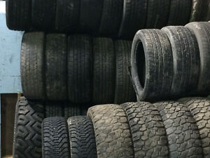 Used tires various sizes available