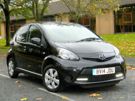 2014 (14) Toyota Aygo 1.0 VVT-i Move Style 5dr WITH FTSH+SATNAV+A/C+BLUETOOTH