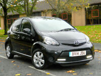 2014 Toyota Aygo 1.0 VVT-i Move Style 5dr WITH FTSH+SATNAV+A/C+BLUETOOTH