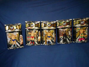 Various Boxed Wrestlers Classic Superstars