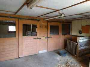 Horse Stables for rent