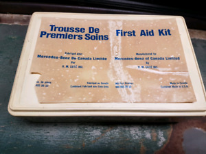 Mercedes Benz first aid kit