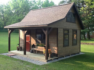 Custom built sheds and cabins