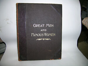 Great Men and Famous Women Vintage book set of 9