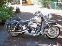CUSTOM HERITAGE SOFTAIL,GREAT BIKE,LOW K`S,NEEDS A NEW HOME