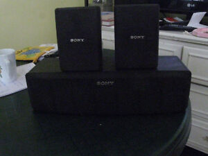 SONY SPEAKERS   VERY GOOD CONDITION   PRICE TO SELL $ 20