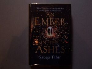 AN EMBER IN THE ASHES SABAA TAHIR 1st/1st UK edition signed date