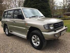 ICONIC MITSUBISHI SHOGUN FLAIR ARCH LWB 3.0 V6 GLS AUTO WITH DIAMOND OPTION 7ST