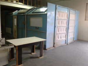 Location chambre a peinture- Renting spray booth