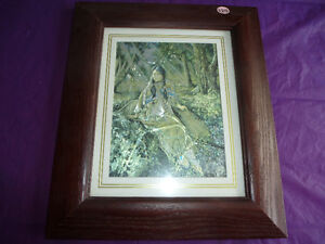 DUFEX FOIL PRINT - FOREST COMPANIONS - FRAMED Kingston Kingston Area image 3