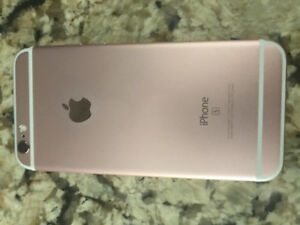 Iphone 6s Rose like new