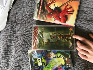 PSP games and movie