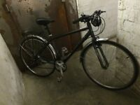 "Activ mens hybrid bike 47cm/19"""