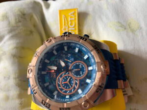 New INVICTA Speedway 27255 Tritnite NightGlow Chronograph