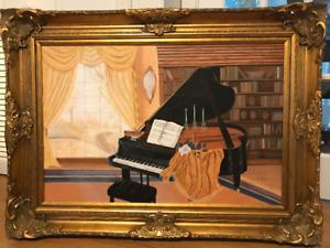 Huile sur toile par artiste peintre