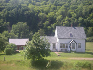 Beautiful House on the Margaree River