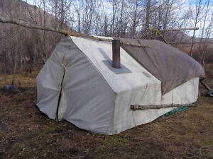 9x12x3 Wall Tent with Frame