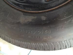 P245 75 16 Goodyear Wrangler ST new