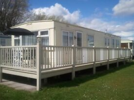 3 bedroom caravan hire Golden palm Chapel st Leonards