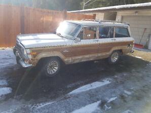 1986 Jeep Wagoneer SUV, Crossover $1000