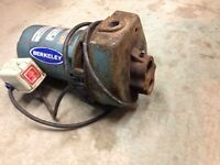 1/3 HP Berkeley water jet pump