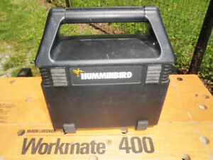 Hummingbird portable battery operated Fish Finder