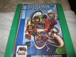 Marvel Age Spiderman - Niagara Falls Variant Comic Issue
